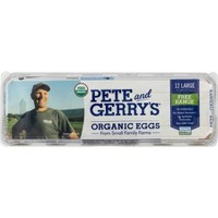 Pete and Gerry's Organic Grade AA Large Eggs - 12ct