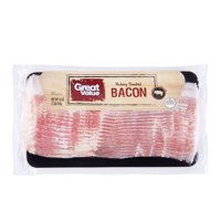 Great Value Original Naturally Hickory Smoked Bacon, 16 Oz.