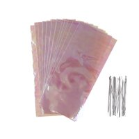 Way To Celebrate Iridescent Cellophane Bags, 20ct
