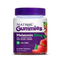 Natrol Melatonin 10mg Sleep Aid Gummies - Strawberry - 90ct