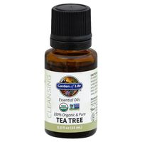 Garden of Life Essential Oils, Tea Tree, Organic