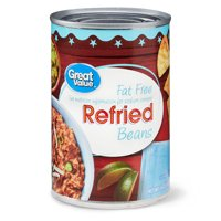 Great Value Fat Free Refried Beans, 16 oz