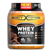 Body Fortress® Super Advanced Whey Protein Powder, Chocolate, 2 Pounds