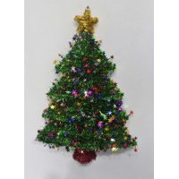Holiday Time Tree Tinsel Décor