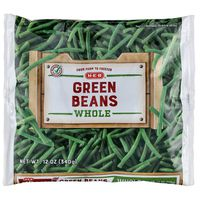 H-E-B Steamable Whole Green Beans