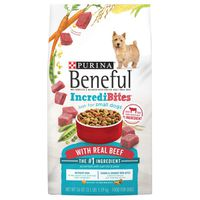 Purina Beneful Incredibites with Farm-Raised Beef, Small Breed Dry Dog Food