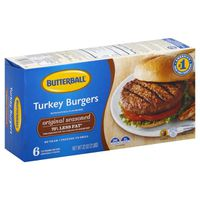 Butterball Original Seasoned Turkey Burgers