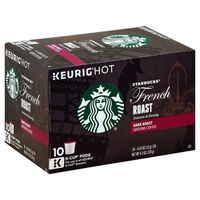 Starbucks Intense & Smoky Dark Roast Ground Coffee K-Cup Pods