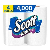 Scott 1000 Septic Safe Toilet Paper