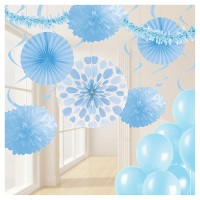 Party Decorations Kit Pastel Blue