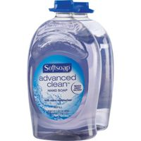 Softsoap Advanced Clean Hand Soap, 2 x 80 oz