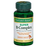 Nature's Bounty B-Complex Super Coated Tablets