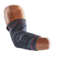 McDavid Elbow Compression Knit Sleeve with Gel Buttress L/XL