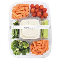 Vegetable Tray with Buttermilk Ranch Dip, 40 oz