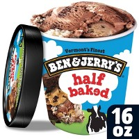 Ben & Jerry's Ice Cream Half Baked - 16oz
