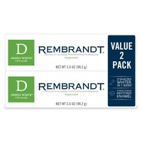 Rembrandt Deeply White Toothpaste - 2pk