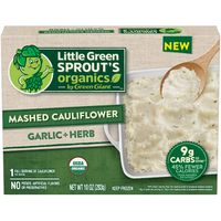 Little Green Sprout's Organics Little Sprout's Organics Garlic & Herb Mashed Cauliflower
