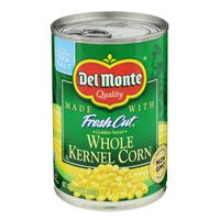 Del Monte Corn, Whole Kernel, Golden Sweet, with Natural Sea Salt