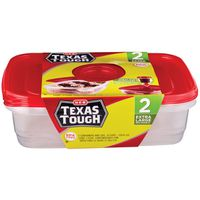 H-E-B Extra Large Rectangle Food Storage Containers