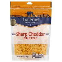 Lucerne Dairy Farms Shredded Sharp Cheddar Cheese