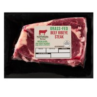 Marketside Butcher Grass-Fed Beef Ribeye Steak, 0.625-1.5 lb