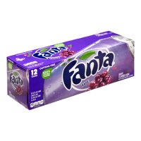 Fanta Grape Flavored Soda, 12 Fl. Oz., 12 Count