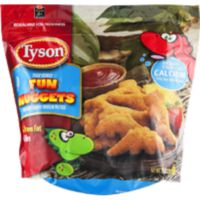 Tyson Fully Cooked Fun Nuggets with Whole Grain Breading, Frozen