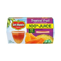 Del Monte Tropical Fruit 4ct - 4oz