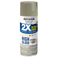 Thunder Cloud American Accents 2X Ultra Cover High Gloss Spray Paint, 12 oz