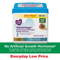 Parent's Choice Advantage® Non-GMO* Infant Formula Milk-Based Powder with Iron, 36oz