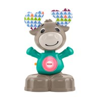 Fisher-Price Linkimals Musical Moose, Light-Up Baby Toy