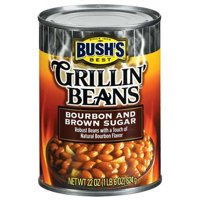 Bush's Grillin' Beans, Bourbon & Brown Sugar, 22 Oz