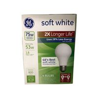 General Electric 53 Watt Energy Efficient Soft White