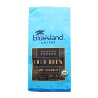Blue Island Coffee Cold Brew 100% Colombian Coarse Ground Coffee