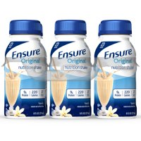 Ensure Original Nutrition Shake with 9 grams of protein, Meal Replacement Shakes, Vanilla, 8 fl oz, 6 Count