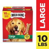 Milk-Bone Original Dog Treats for Large Dogs, 10 Pounds