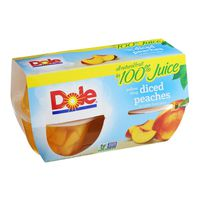 Dole Yellow Cling Sliced Peaches
