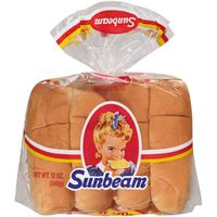 Sunbeam Hot Dog Buns