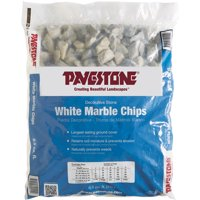 Pavestone .5 cu. ft. White Marble Chips