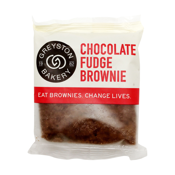 Greyston bakery Chocolate Fudge Brownie, 2.5 oz