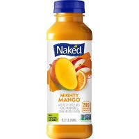 Naked Mighty Mango All Natural Vegan Fruit Juice Smoothie - 15.2oz