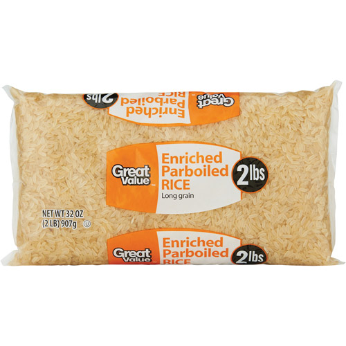 Great Value Parboiled Rice, 32 oz