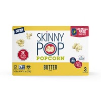 SkinnyPop Microwave Butter Popcorn - 3ct
