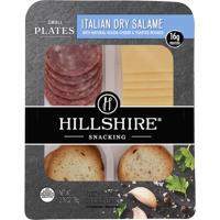 Hillshire® Snacking Small Plates, Italian Dry Salame Deli Lunch Meat and Gouda Cheese, 2.76 oz