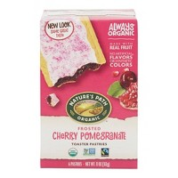 Nature's Path Toaster Pastries Frosted Cherry Pomegranate - 6ct