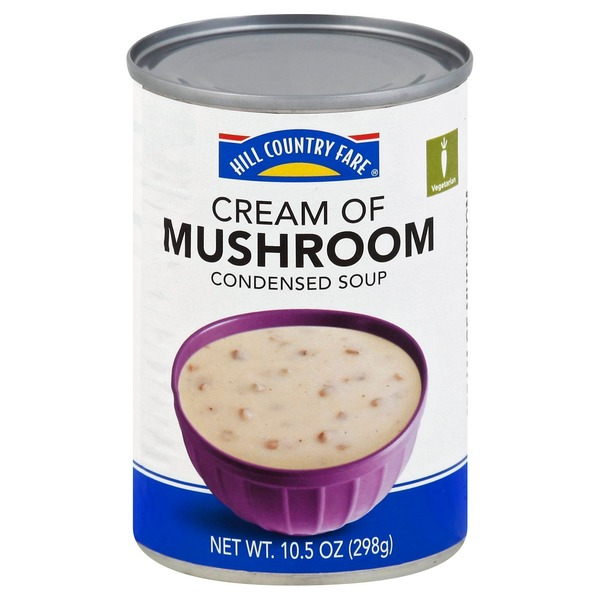 Hill Country Fare Condensed Cream Of Mushroom Soup