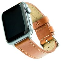 Genuine Leather Band for 38 & 40MM Apple Watch® -Brown