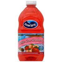 Ocean Spray Juice Drink, White Cran-Strawberry