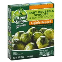 General Mills Green Giant Steamers Baby Brussel Sprouts & Butter Sauce, 10 oz