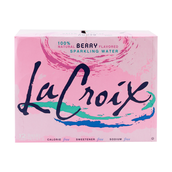 Lacroix sparkling water Berry Flavored Sparkling Water (12 pk)